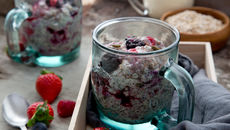 Fruit nut seed porridge