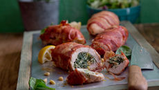 Roast stuffed chicken fillet recipe