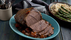 Slow cooked beef mustar mash recipe