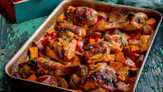 Sweet smokey roast chicken recipe