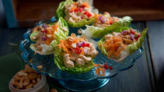 Thai chicken cups recipe