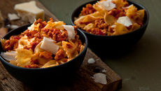 Turkey mince pasta recipe