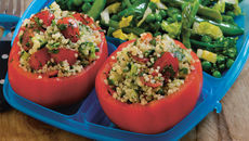 Beef Tomatoes Stuffed with Tabbouleh
