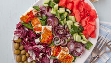 Claire greek salad