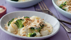 David brocolli cauliflower gratin