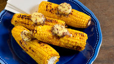 Grilled Corn on the Cob with Irish Seaweed Butter