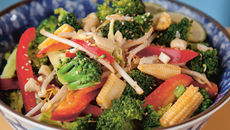 Happy asian broccoli salad