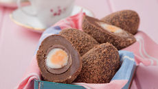 Chocolate and Orange Scotch Eggs