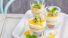 Exotic cheesecake pots
