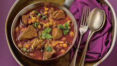 Mixed Bean Stew with Lamb