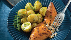 Warm Smoked Mackerel with Baby Potatoes