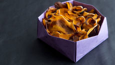 Sweet and Spicy Butternut Crisps