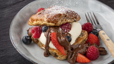 Hot cross bun french toast recipe