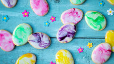 Marbled shortbreads recipe