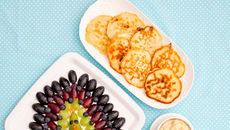 Sweetcorn pancakes recipe