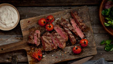Chargrilled beef horseradish recipe
