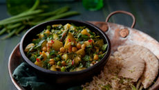 Coconut veg korma recipe