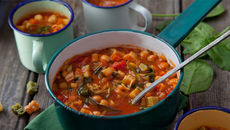 Souper hero ministrone recipe