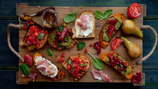 Trio of bruschetta recipe
