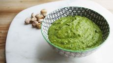 Pistachio pesto recipe