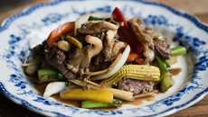 Stir fried beef