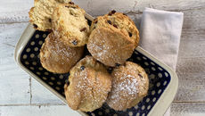 Fruity scones recipe