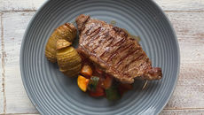 Striploin steak recipe