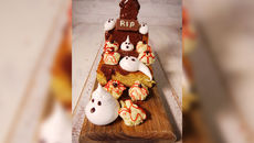 Halloween sponge cake recipe
