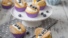 Lemon curd fairycakes recipe