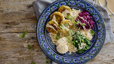 Mezze bowl recipe