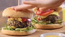 Mushroom and hazelnut burger recipe