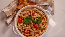 Roasted tomatoes and feta pasta recipe