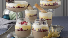 Irish coffee verrine