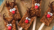 Reindeer Rice Krunchie bars