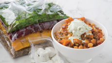 Bressie autumn squash chickpea curry