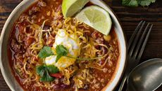 Cheesy chilli con carne recipe