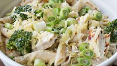 Chicken pasta broccoli bake recipe