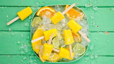 Mango turmeric ginger citrus ice pop shots recipe