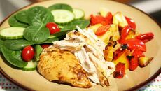Roast spicy chicken recipe