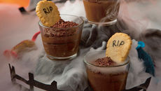 Sharon chocolate graveyard cups