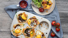 SuperValu Easter Recipes Breakfast Filo Muffin Cups