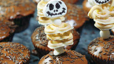 SuperValu Halloween Monster Cupcakes