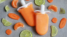 SuperValu Recipes Siobhan Berry Carrot Orange Ice Lolly