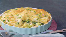 SuperValu Recipes The Happy Pear Broccoli Potato Filo Pie