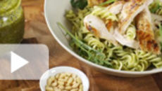 Chicken and Wild Garlic Pesto
