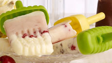 Berry and Yoghurt Pops