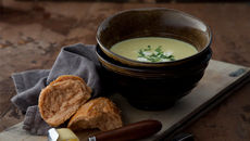 Spiced Cauliflower and Yogurt Soup