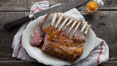 Roasted Rack of Lamb with Poitín Marmalade Crust
