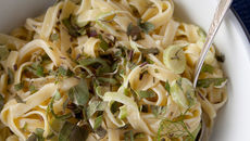 Milleens with Sage, Fennel & Tagliatelle