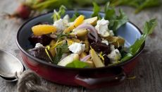 Baby Potato Beetroot & Ardsallagh Goat's Cheese Salad
